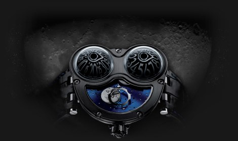 MB&F Collaboration with Stepan Sarpaneva  Moonphase