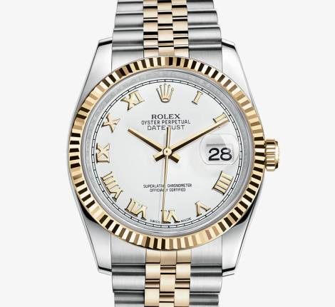 Date function only for calendar Rolex Datejust