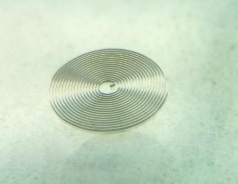 corrected hairspring sized