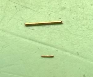 Pin size comparison