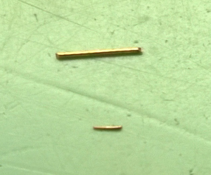 Pin size comparison